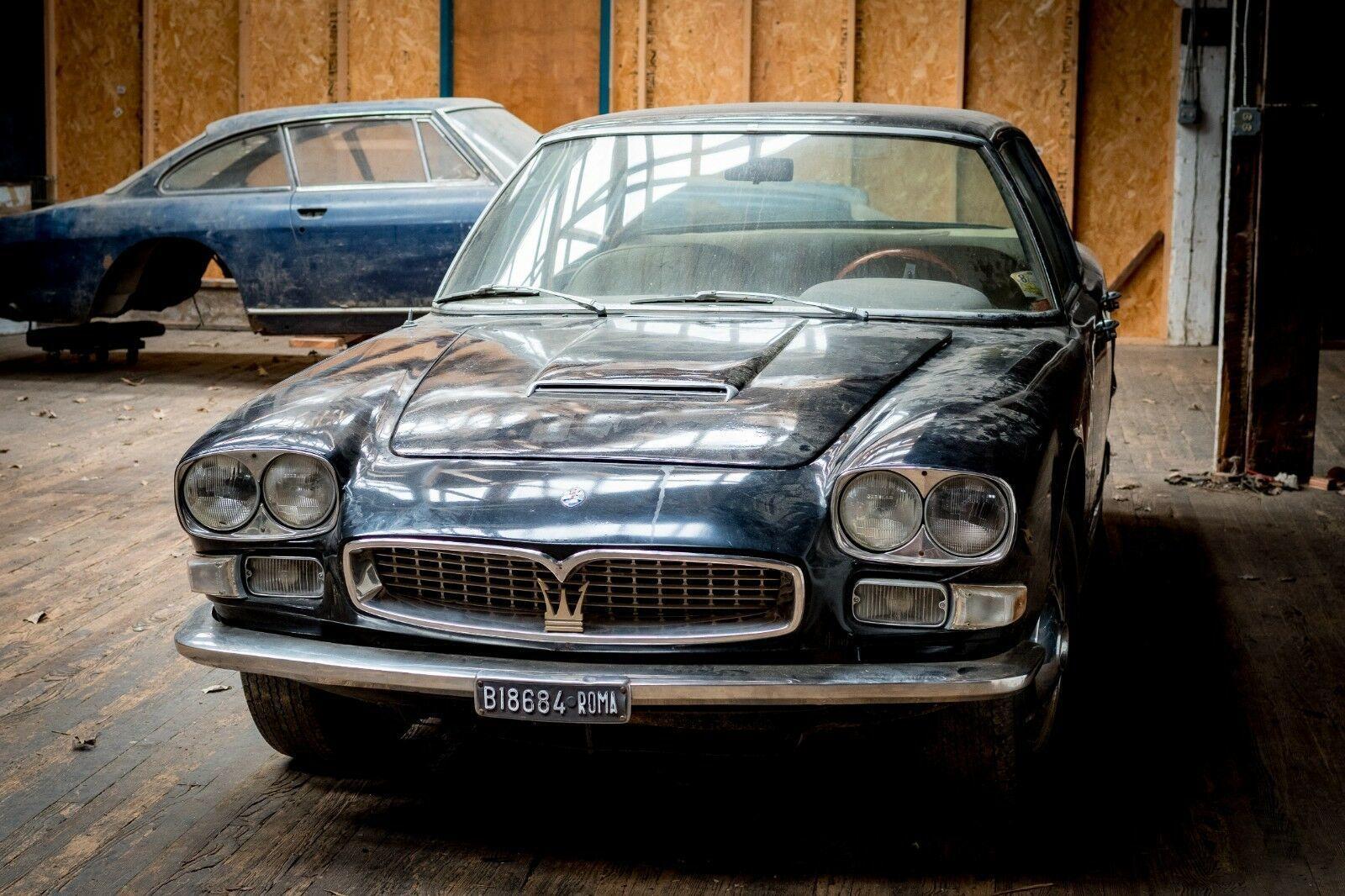 Prostoyavshij 40 Let V Garazhe Sedan Maserati Prodadut Na Ebay Motor