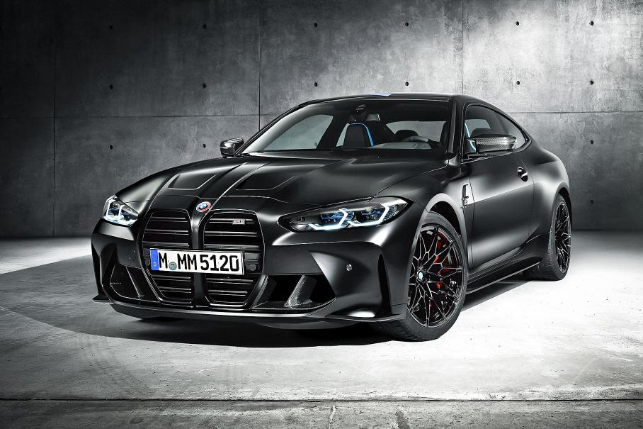 В России появится спецверсия BMW M4 Competition Coupe x Kith