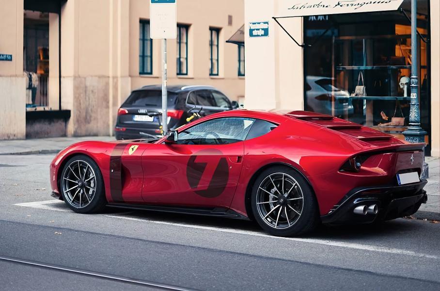 Посмотрите на уникальный Ferrari Omologata