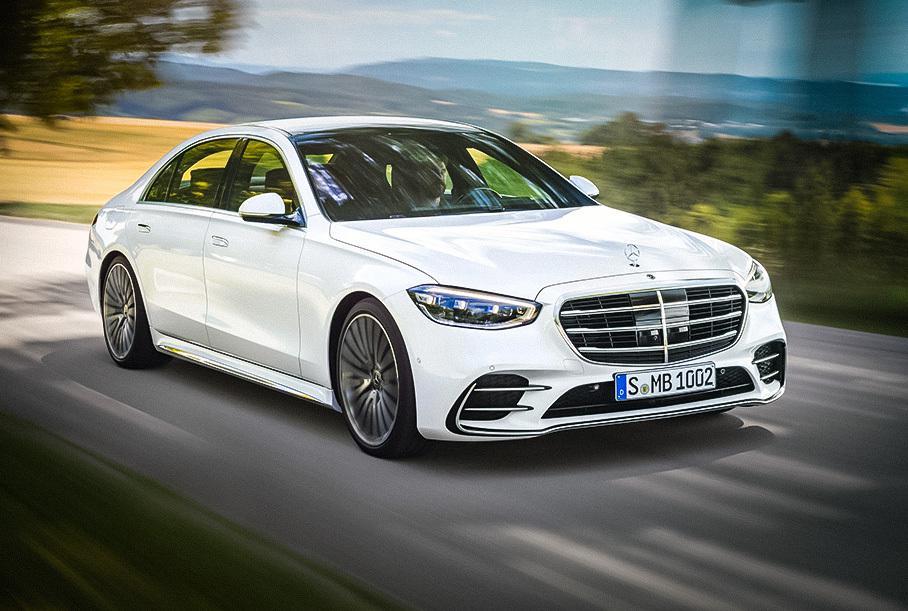 Mercedes-Benz отзывает новый S-Class из-за проблем с рулевым управлением