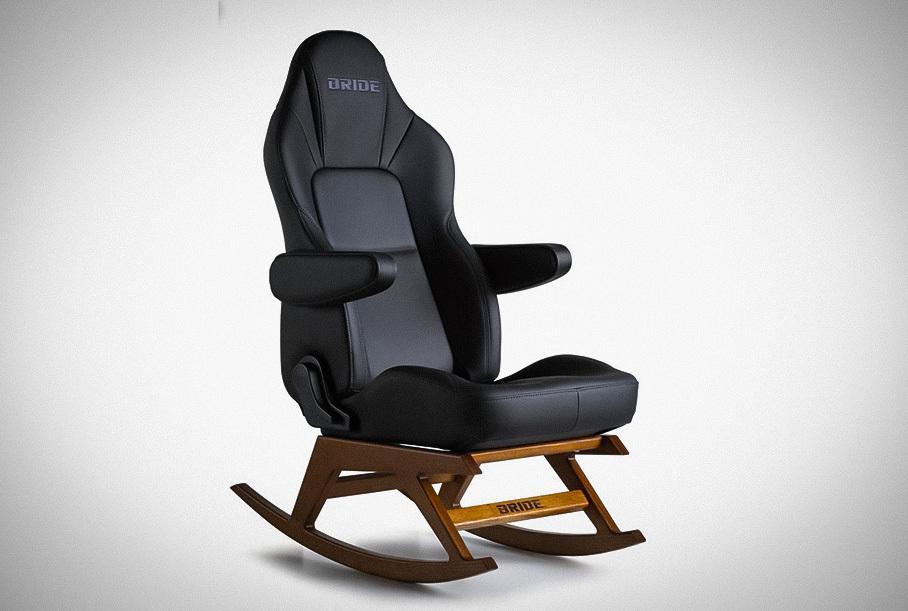 Спортивные сиденья теперь можно превратить в «гоночное кресло-качалку»