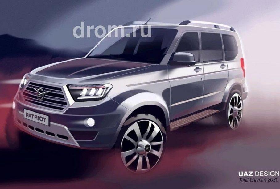 УАЗ приостановил разработку «русского Prado», но проект не закрыт