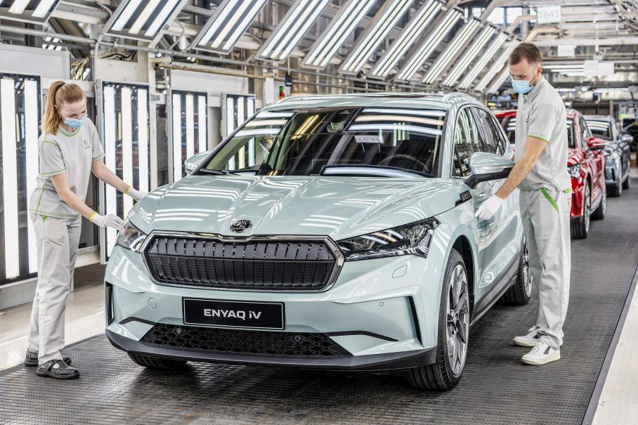 С конвейера главного завода Skoda сошел 15-миллионный автомобиль