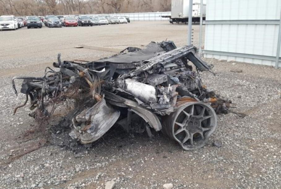 Груду металла, которая раньше была Ford GT, продают на аукционе