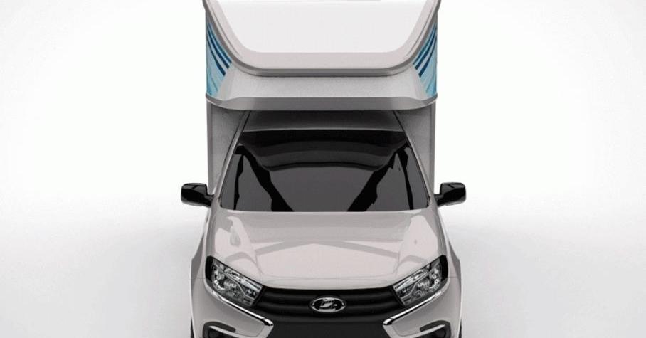 Из Lada Granta и 4x4 сделали грузовые фургоны за миллион рублей