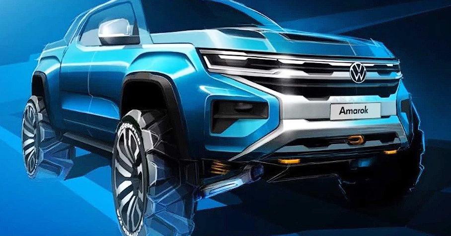Volkswagen показал новый Amarok