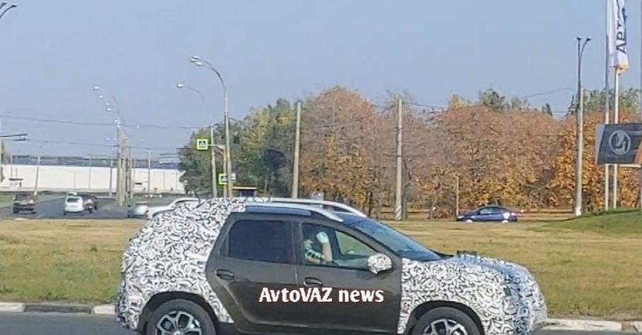 АВТОВАЗ испытывает в Тольятти обновленный Duster- журнал За рулем