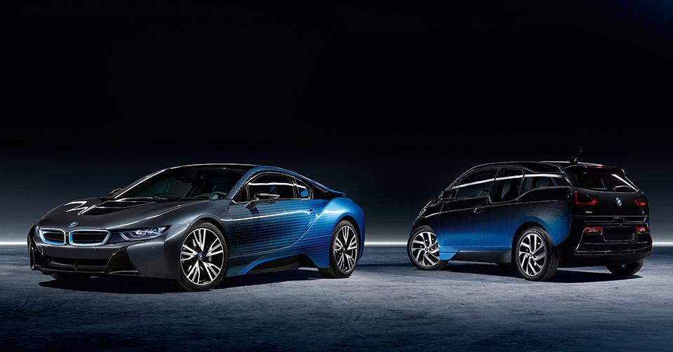 Бывший топ-менеджер Fiat придумал раскраску для i-моделей BMW